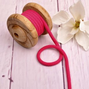 Cotton Cord Pink 8 mm