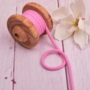 Cotton Cord Light Pink 8 mm