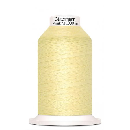 Gütermann Miniking Nr. 325 Sewing Thread - 1000m, Polyester