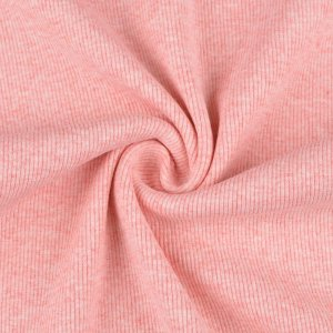 Cuffs Ribbed Uni Light Pink Melange